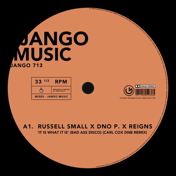 Russell Small DNOP Carl Cox - It Is What It Is