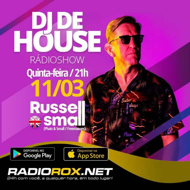 Russell Small radio Rox show flyer